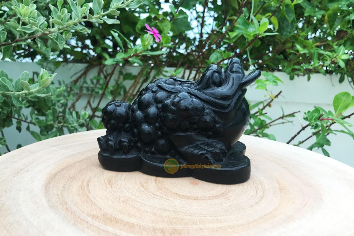 Thiềm thừ đá núi lửa - Phong thủy Hàn Long